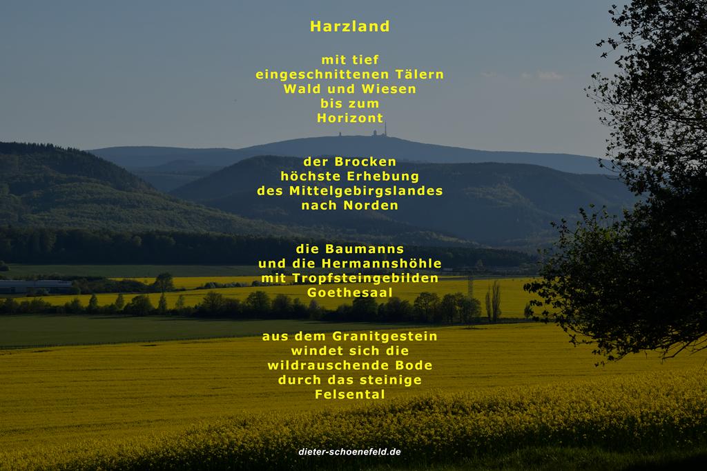 Harzland - Dieter Schönefeld